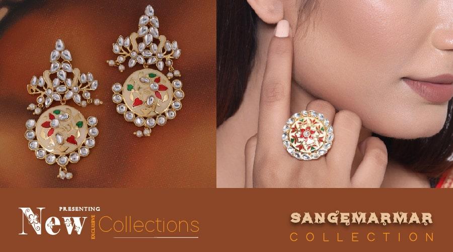 voylla.com - Sangemarmar Jewellery Collection starting at just ₹719