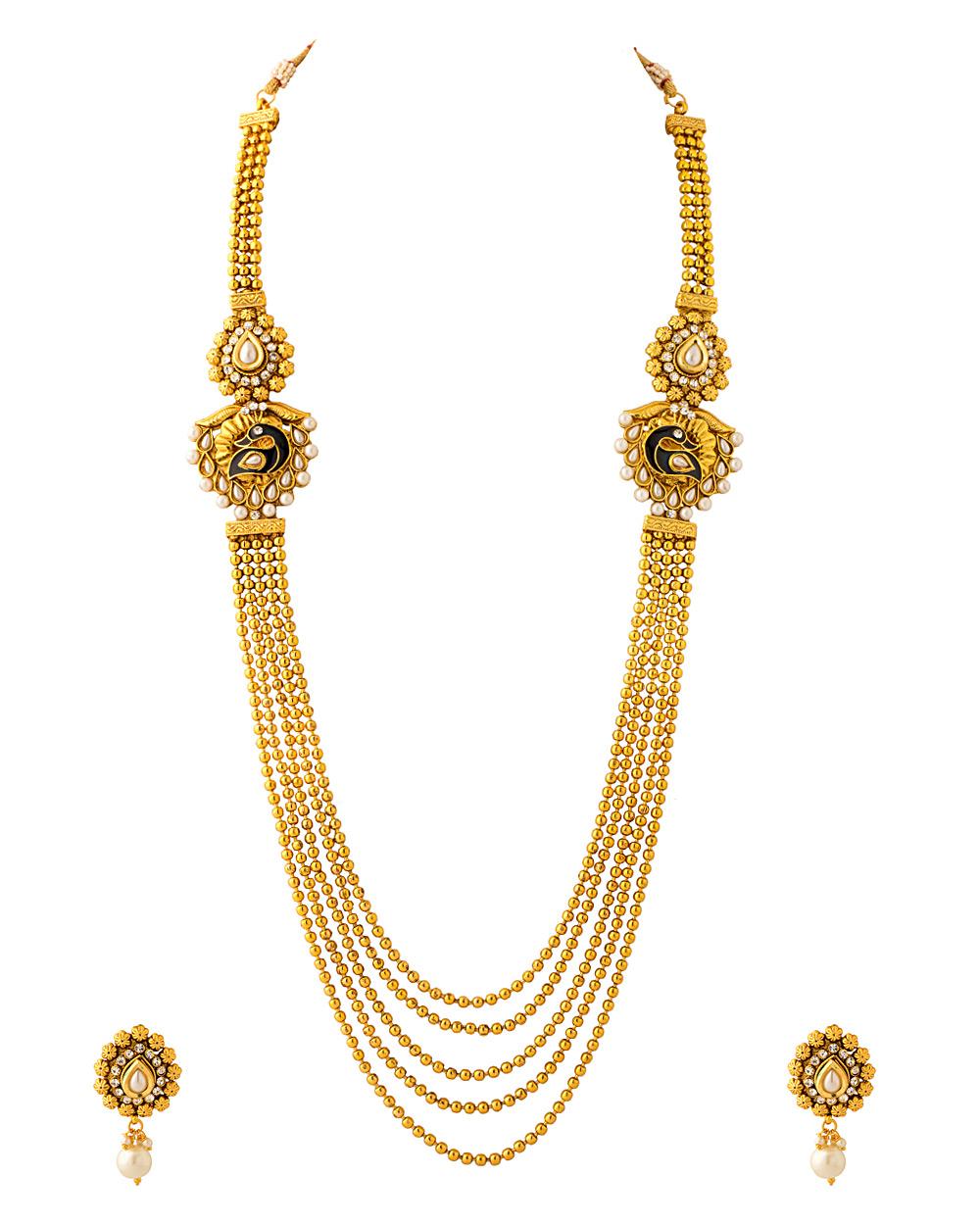 Buy Peacock Inspired Rani Haar Online India | Voylla