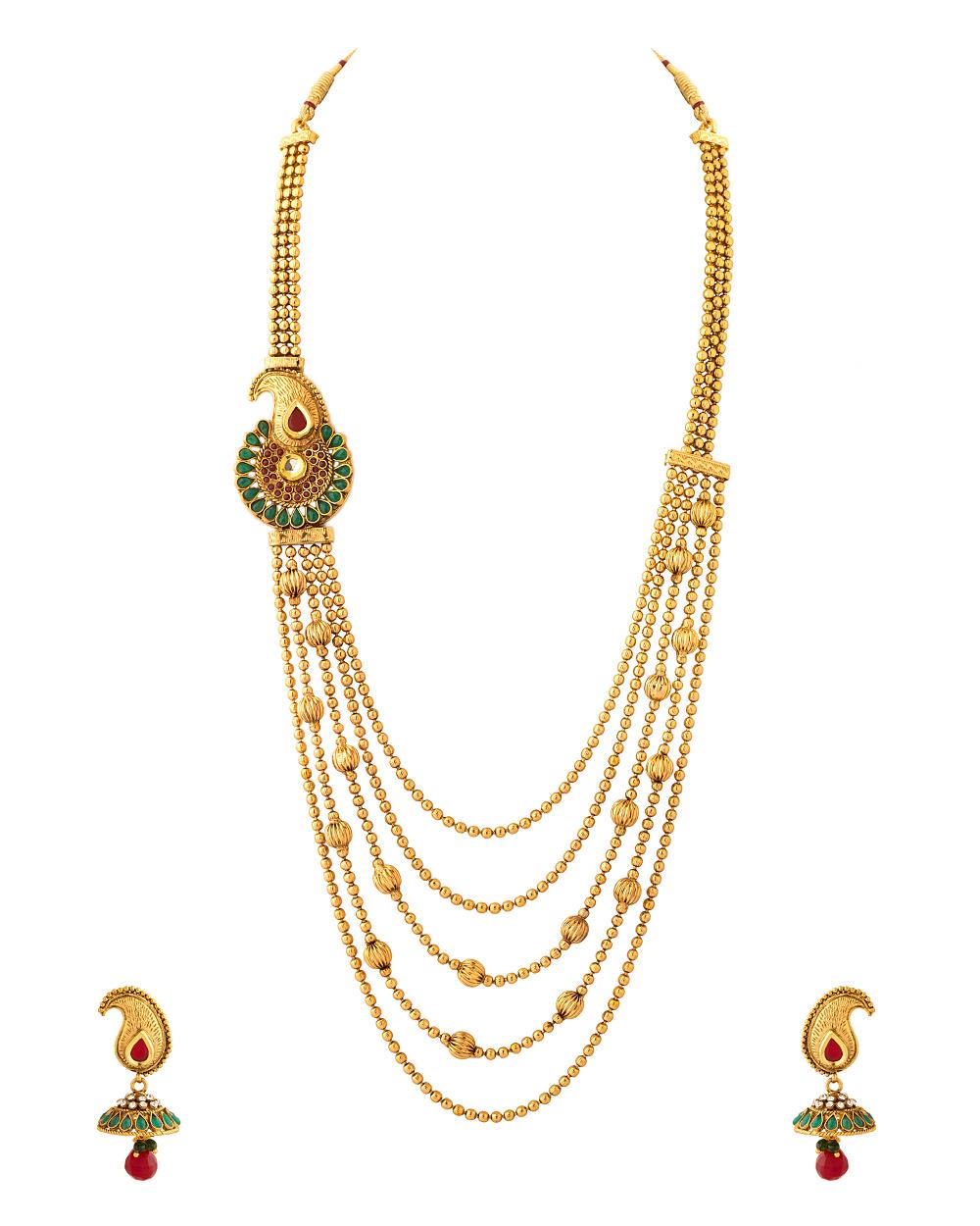 Buy Rani Haar With Traditional Work Online India | Voylla