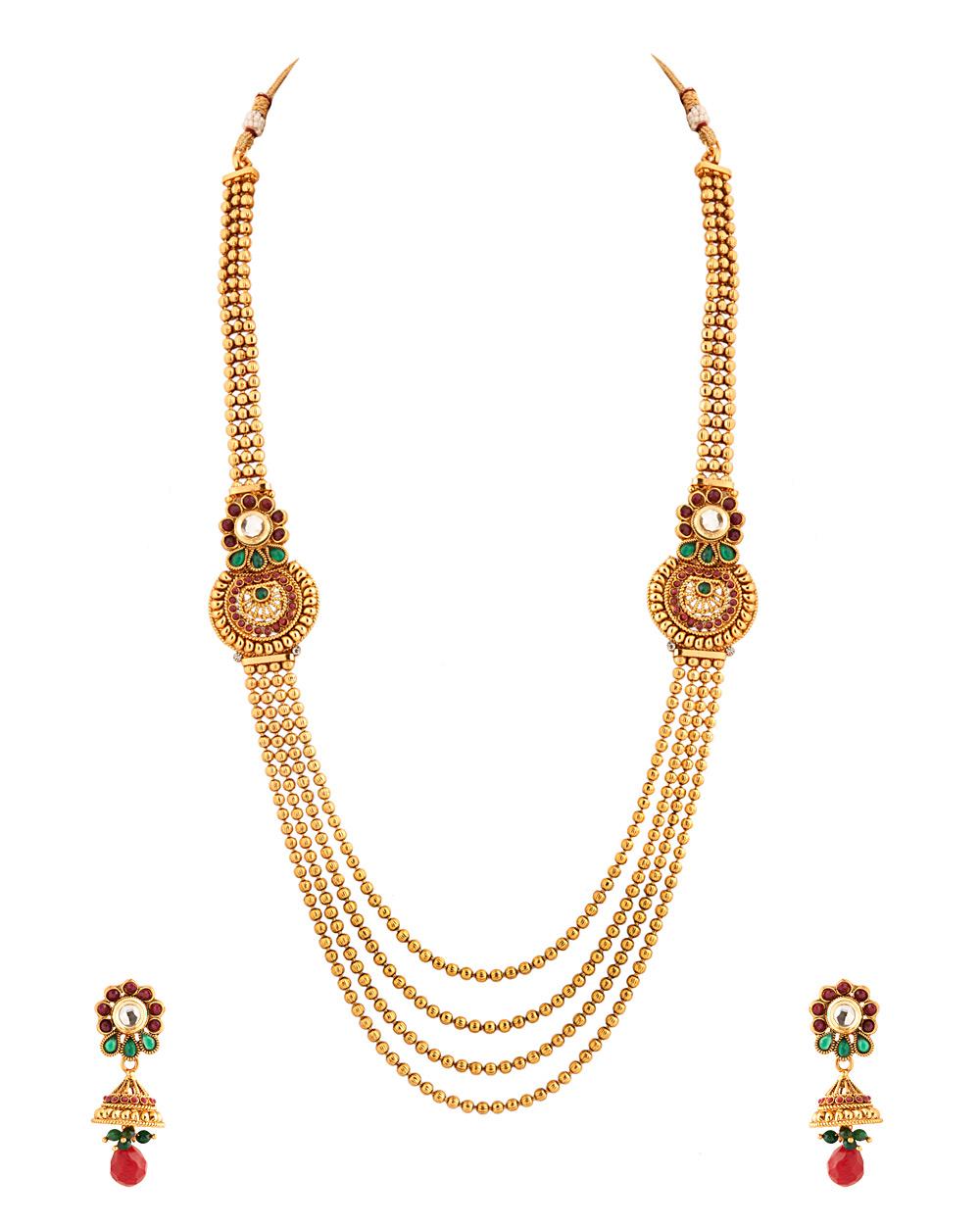 Buy Rani Haar With Paisley Shaped Decorations Online India | Voylla