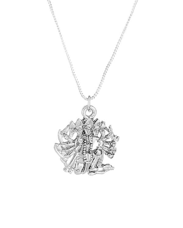 Buy designer mens pendants panchmukhi hanuman religious silver toned panchmukhi hanuman religious silver toned pendant aloadofball Images