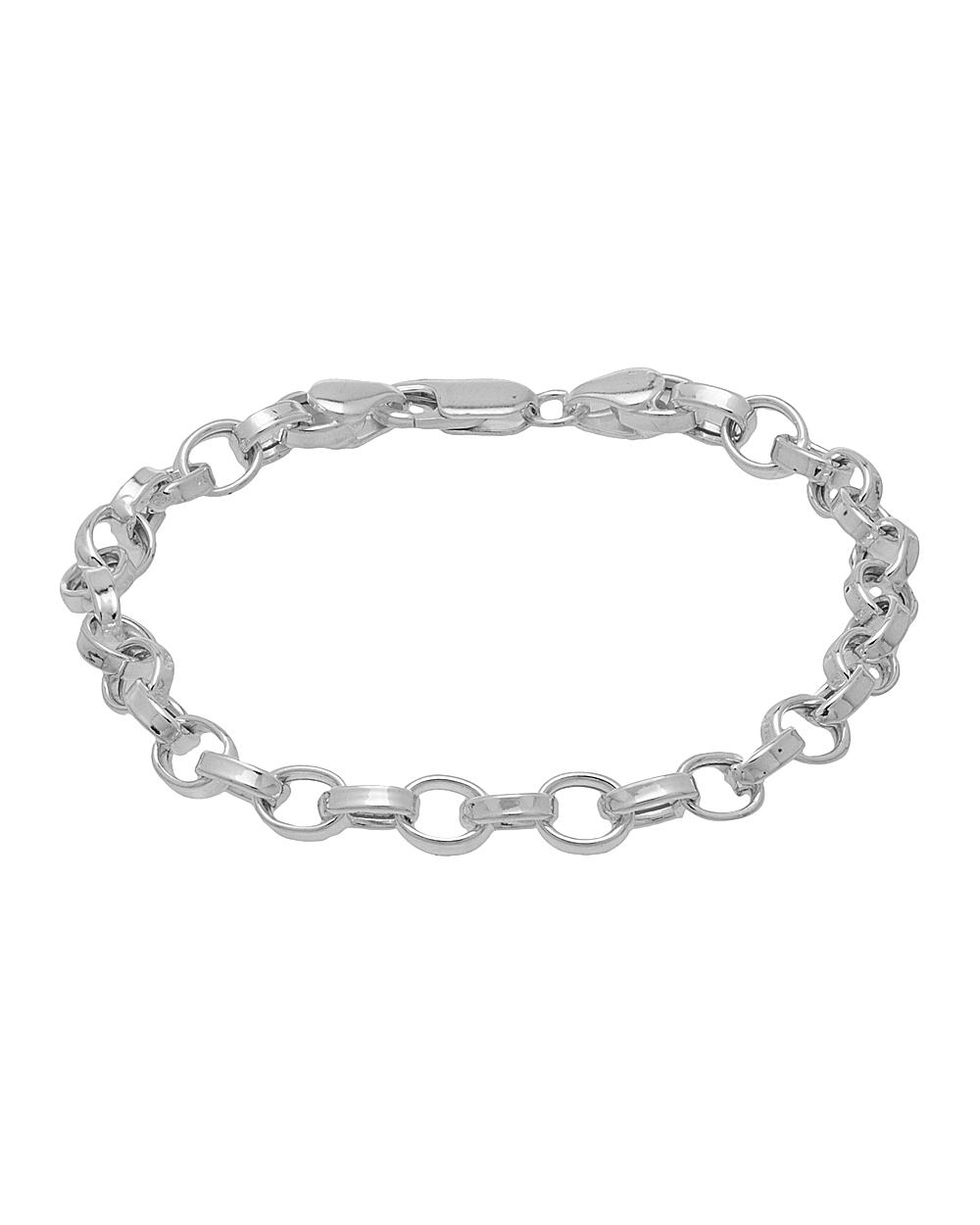 Buy Stylish Sterling Silver Bracelet For Men Online India   Voylla
