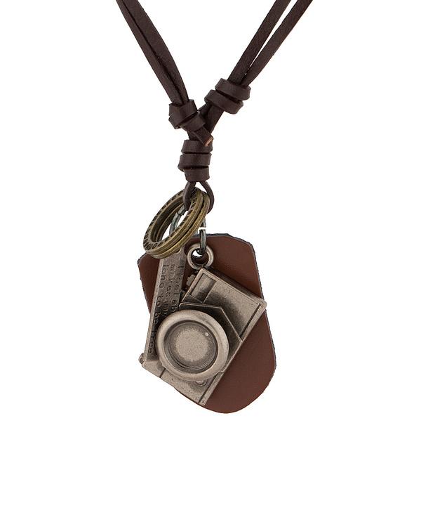 Buy designer mens pendants stylish camera pendant with pu leather stylish camera pendant with pu leather chain aloadofball Gallery