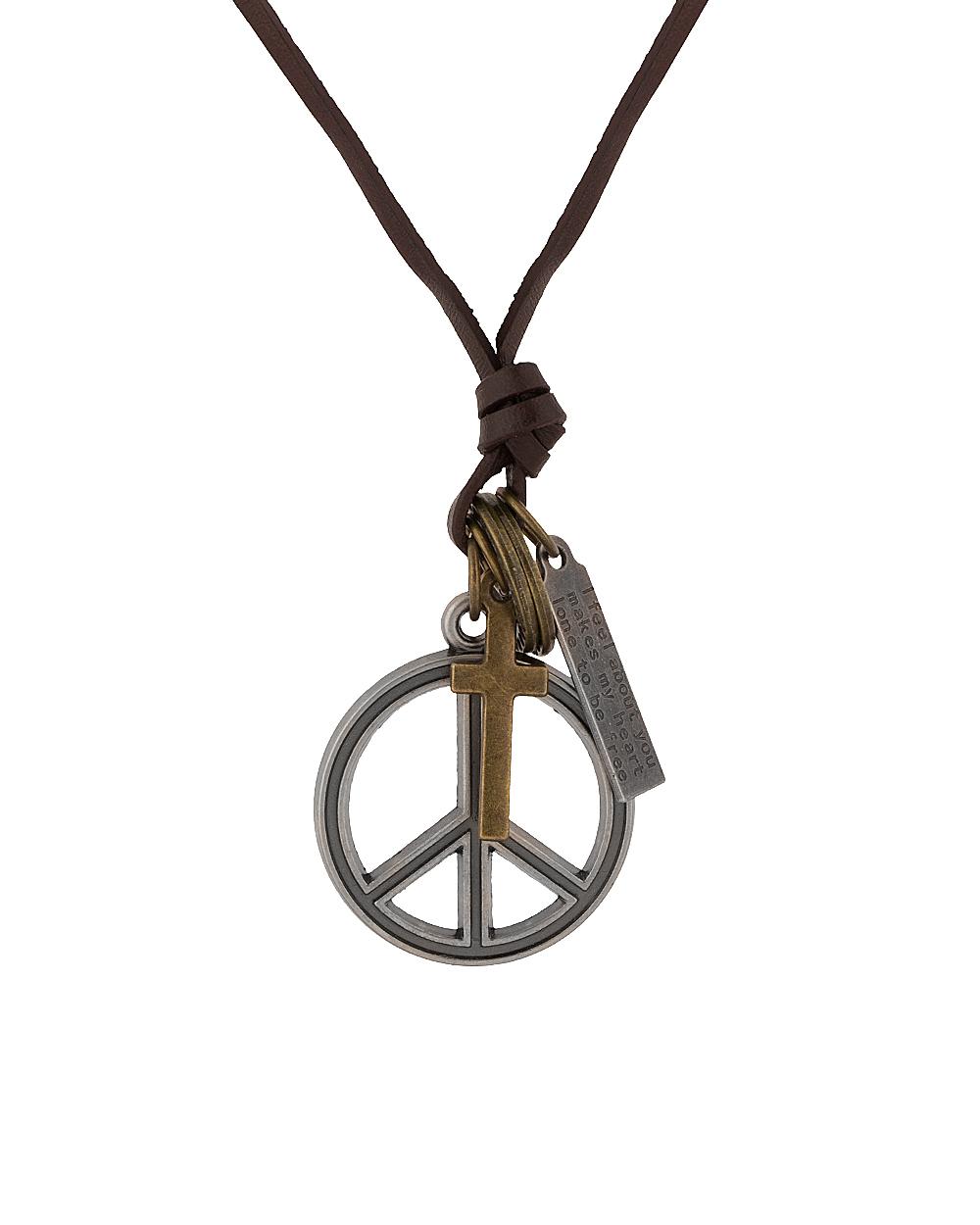 Buy ultra modern peace symbol pendant online india voylla ultra modern peace symbol pendant buycottarizona Gallery