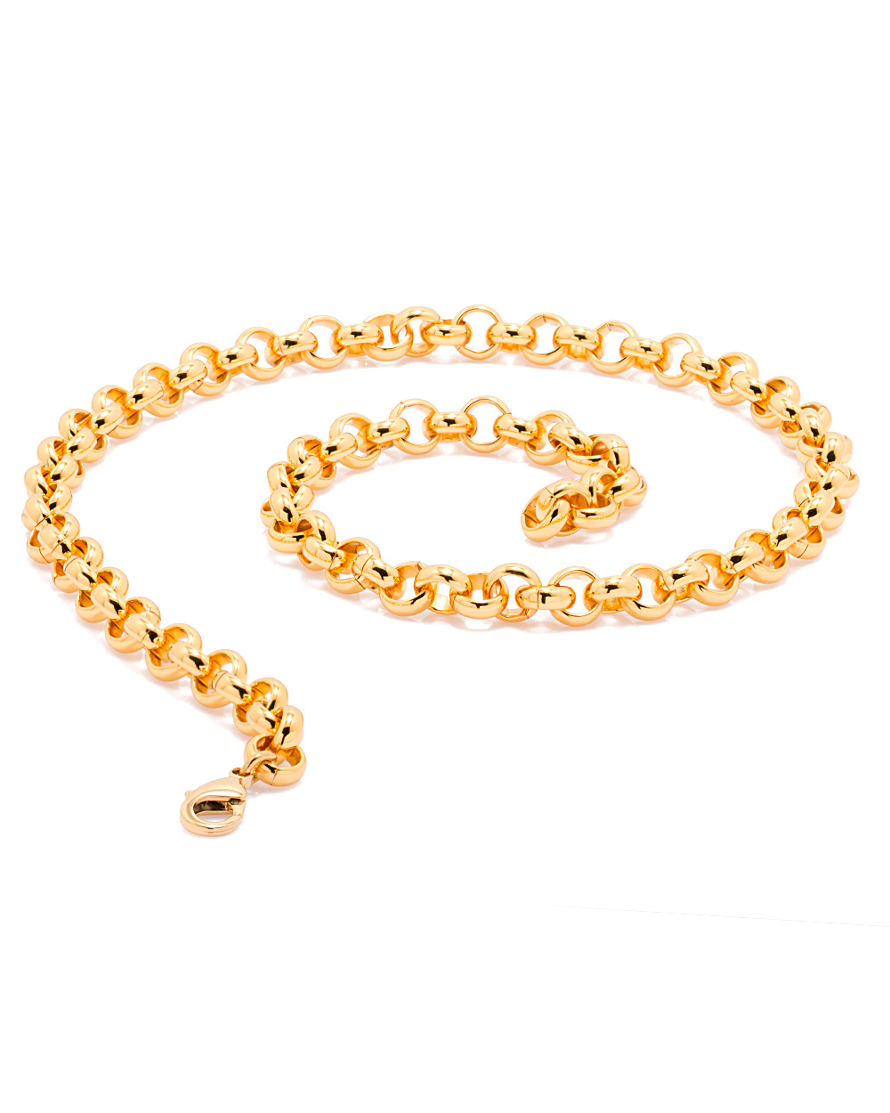 Buy Stylish Chain For Men In Round Link-Lock Design Online India ...