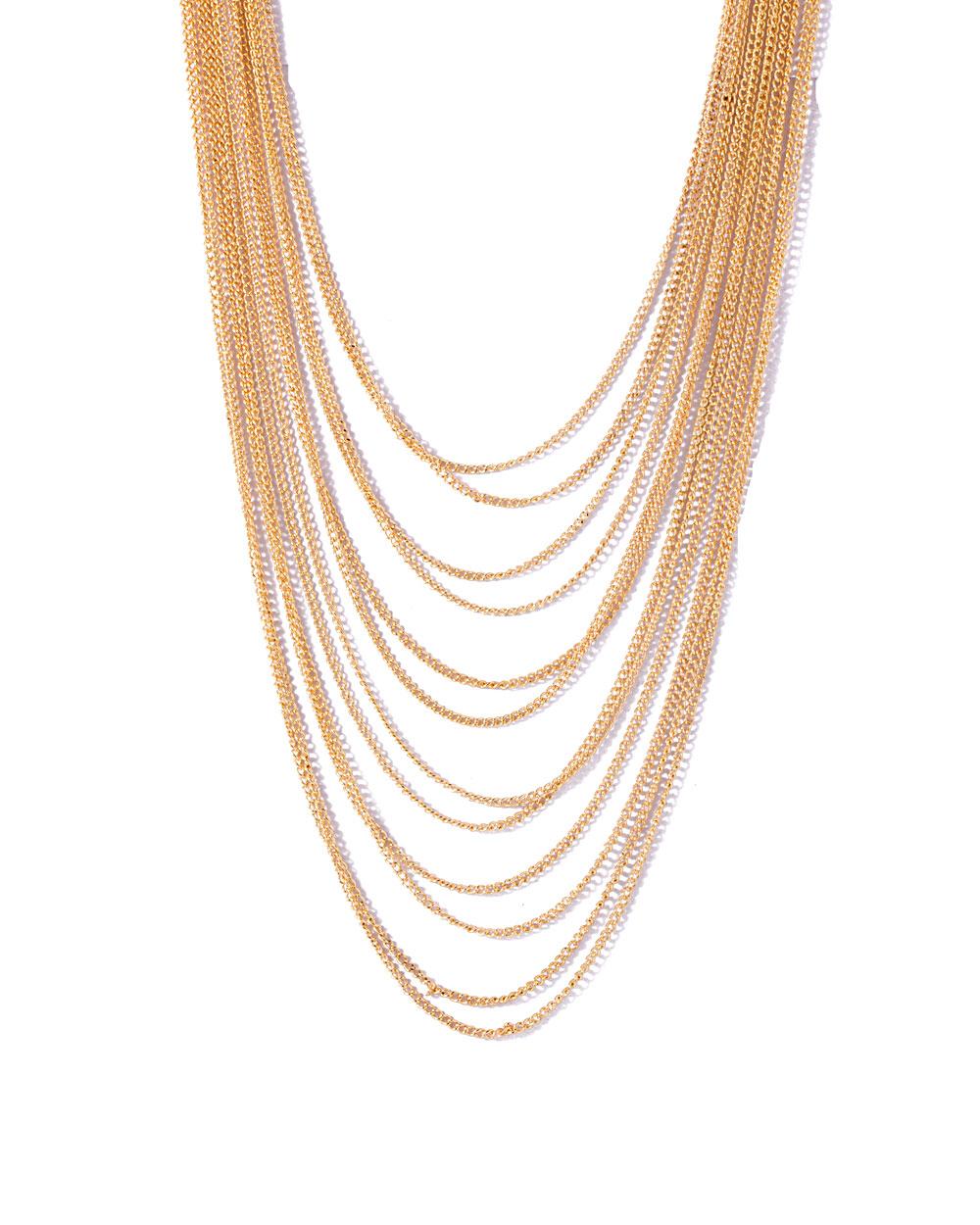 Buy Rani Haar Style Gold Tone Necklace Online India | Voylla