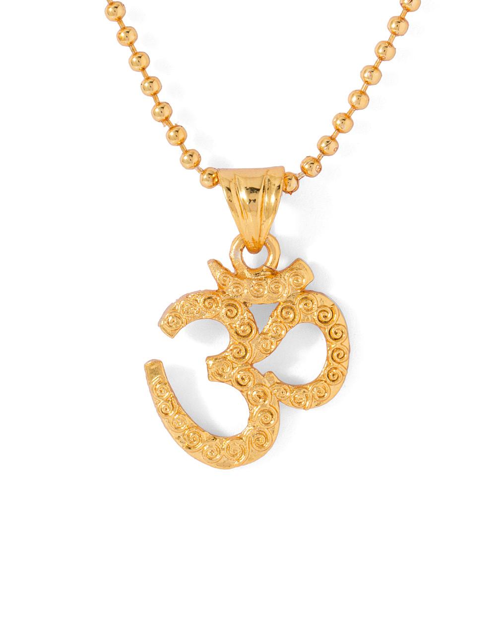 Buy spiritual mens om pendant with chain online india voylla spiritual mens om pendant with chain aloadofball Images