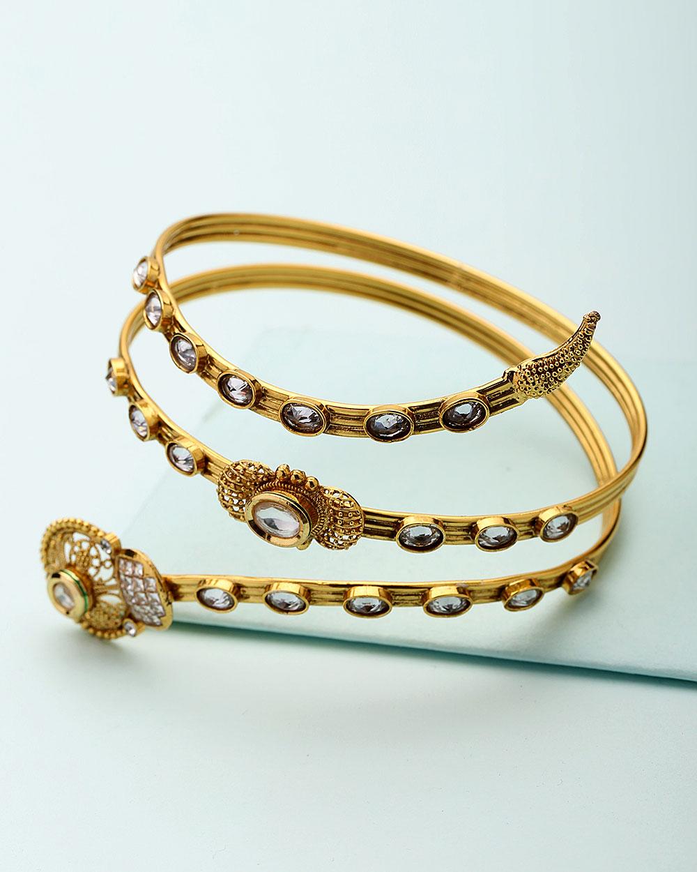 Buy Ethic Spiral Design Bajuband For Women Online India | Voylla