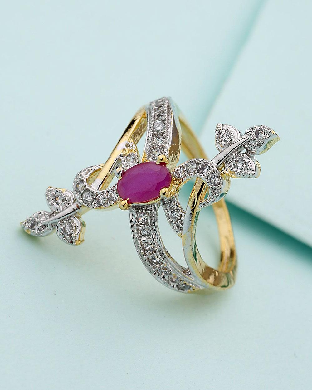 Buy Statement Finger Ring For Women Online India   Voylla