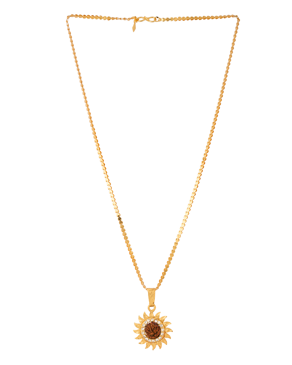 Buy Sun Design Pendant With Chain For Men Online India   Voylla