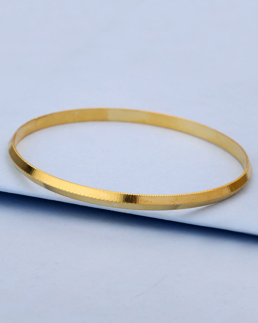 Buy Simple Gold Plated Kada For Men Online India   Voylla