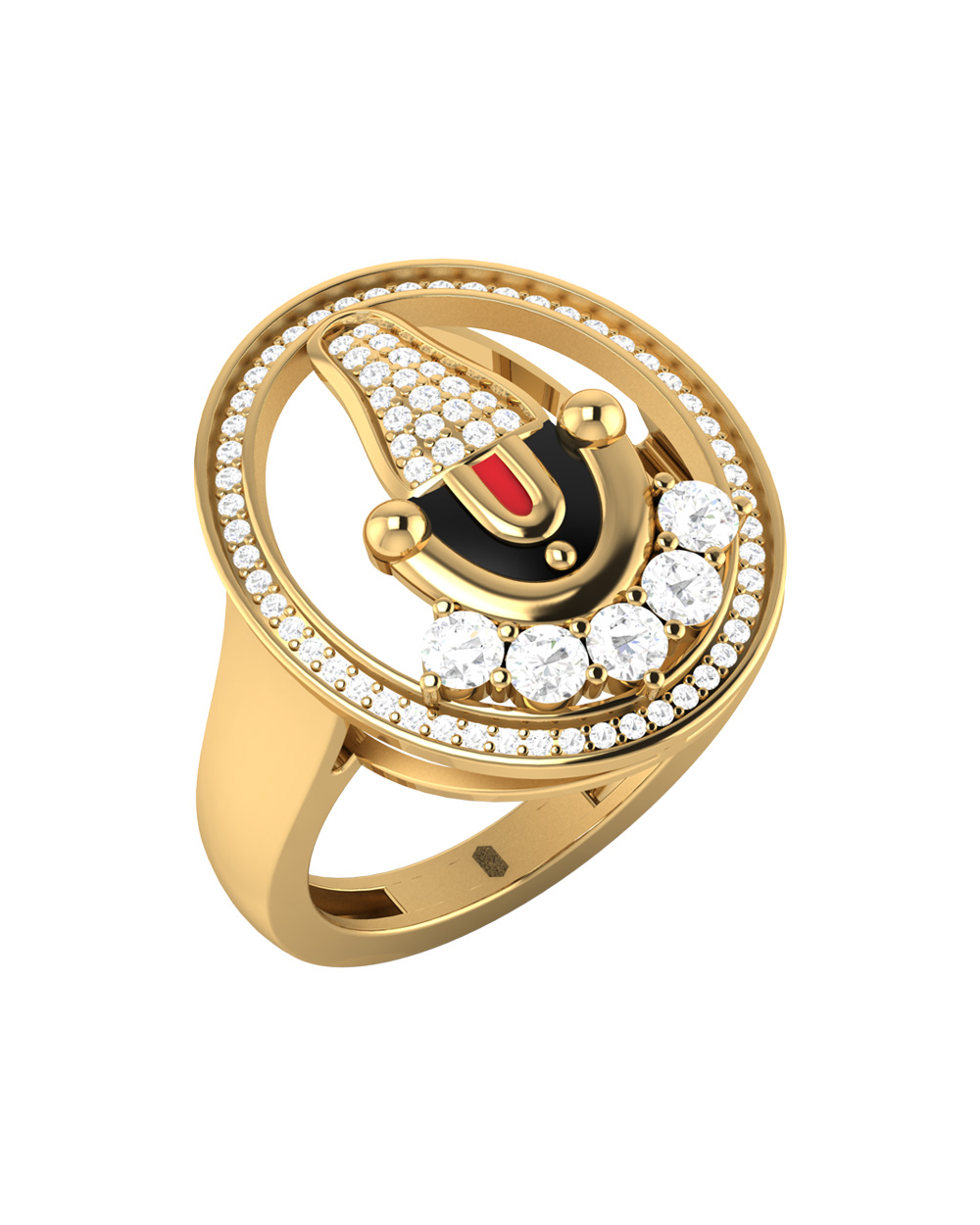 Buy Men\'s Ring Studded With \