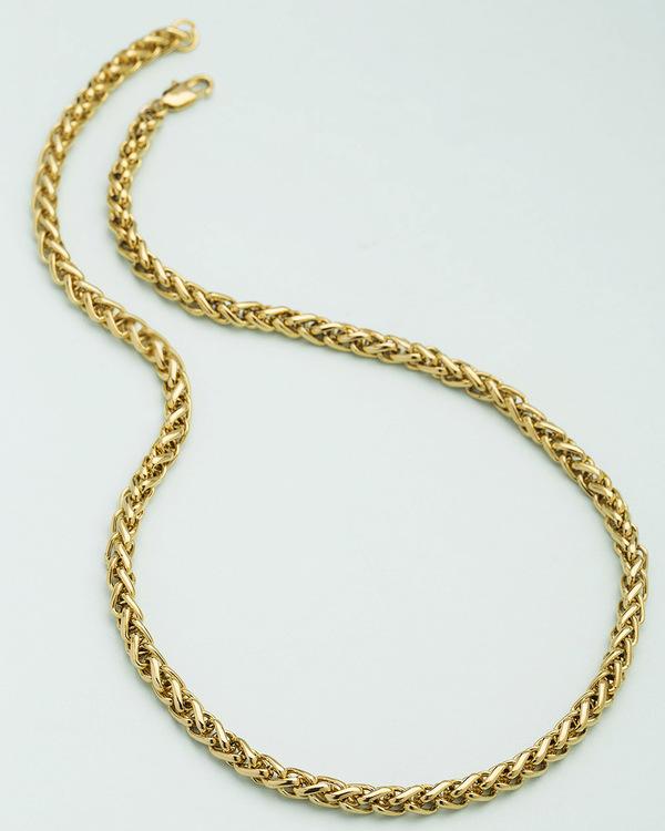 ab51327525598 Square Wheat Design Men's Chain