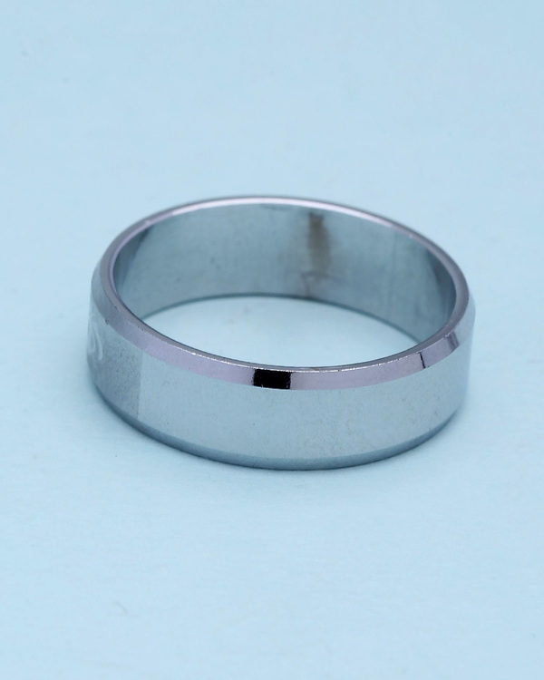 Simple Silver Plated Ring For Men