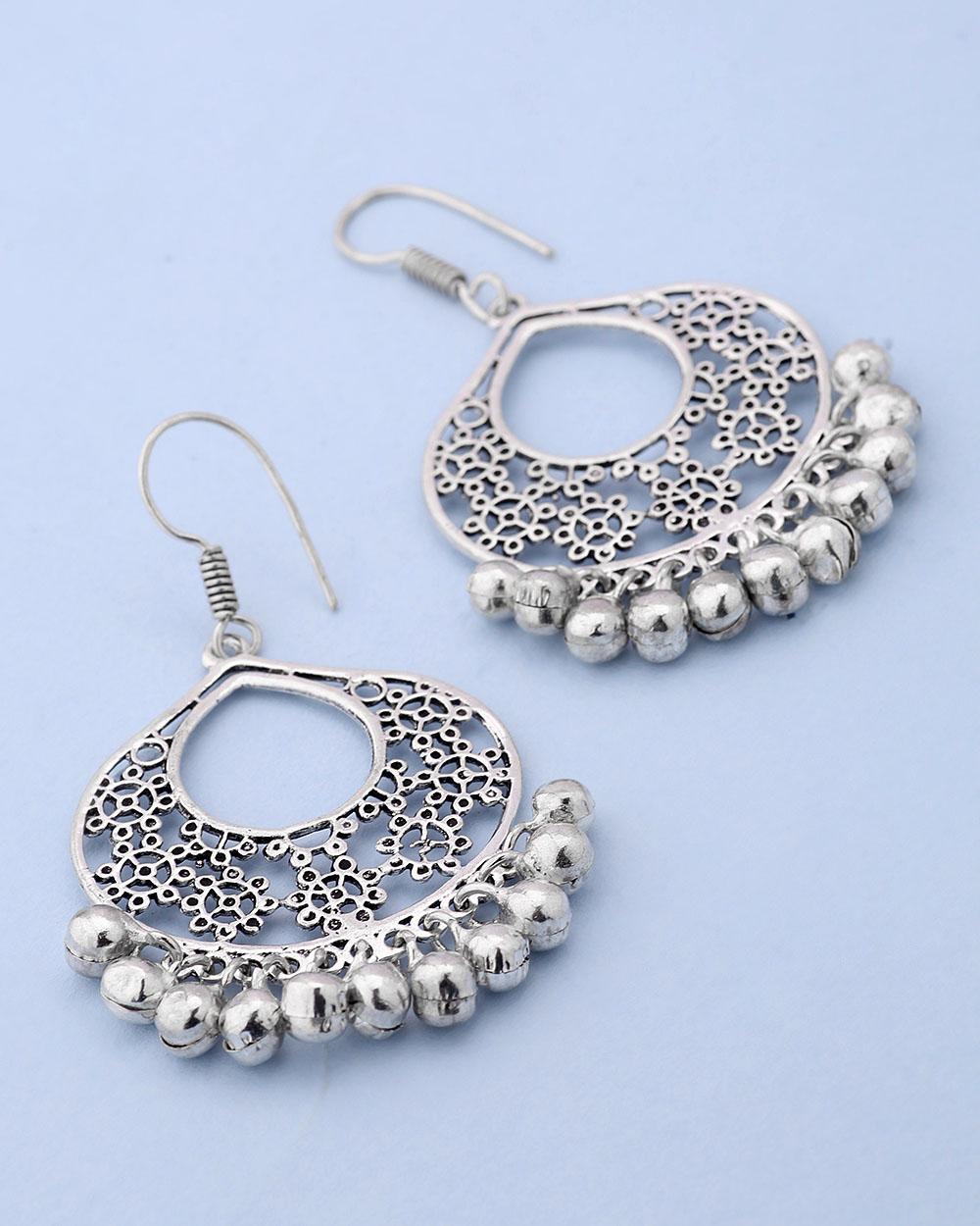 ghungroo drop ethnic danglers buy designer fashion earrings online