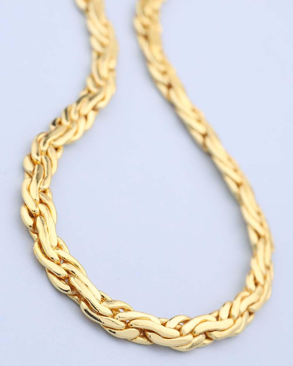 Buy Classy Yellow Gold Chain For Men Online India | Voylla