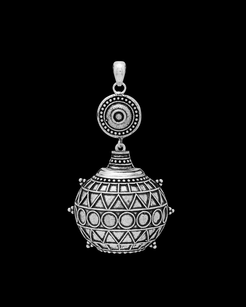 Classy traditional oxidised silver plated pendant without chain classy traditional oxidised silver plated pendant without chain aloadofball Image collections