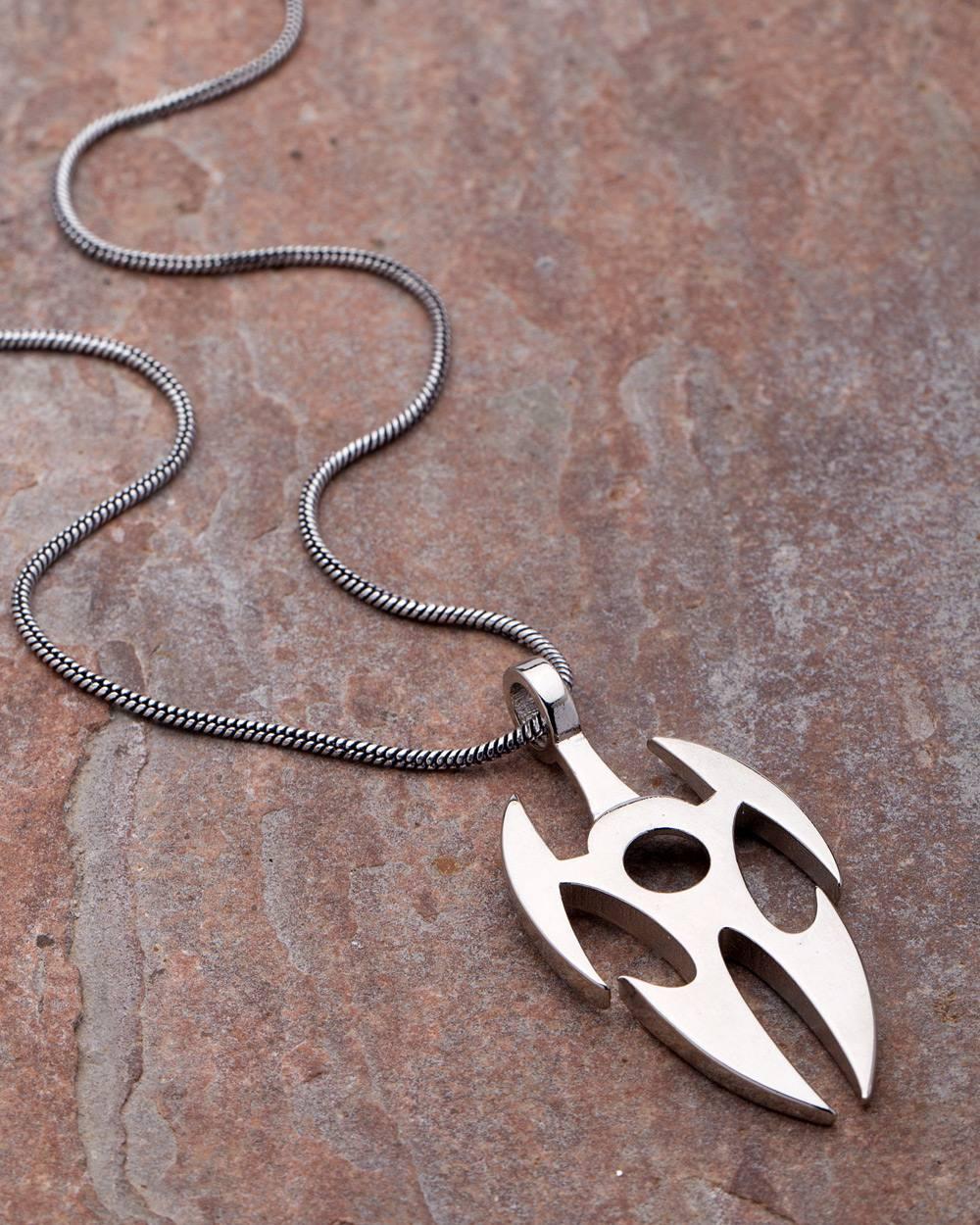 Buy dare by voylla designer silver plated pendant with chain for men dare by voylla designer silver plated pendant with chain for men aloadofball Choice Image