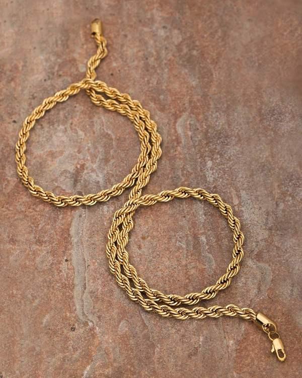 11fd5920aa8f Buy Designer Mens Chains Twisted Rope Designer Chain For Men Online ...