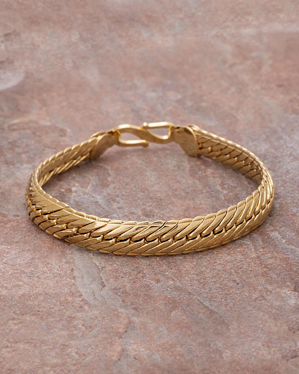 Buy Mens Bracelets - Silver, Gold Plated, Designer Bracelets for ...