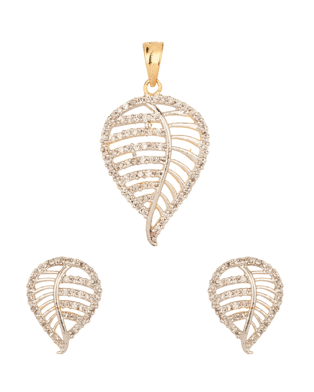 Beautiful Gold Locket Leaf Designs Contemporary Jewelry Collection