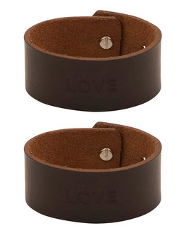 Designer Mens Bracelets Combo Pack Of Brown Leather Band Online Voylla
