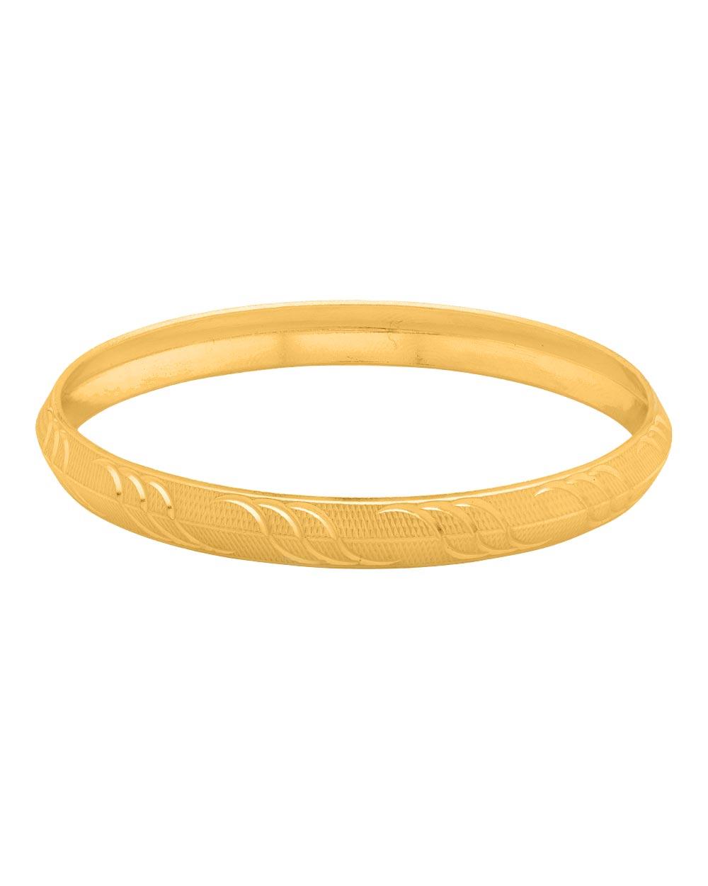 Buy Stylish Gold Plated Kada For Men Online India | Voylla