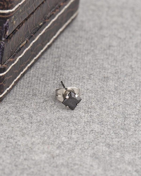 Black CZ Studded Earring from Stud Out Collection
