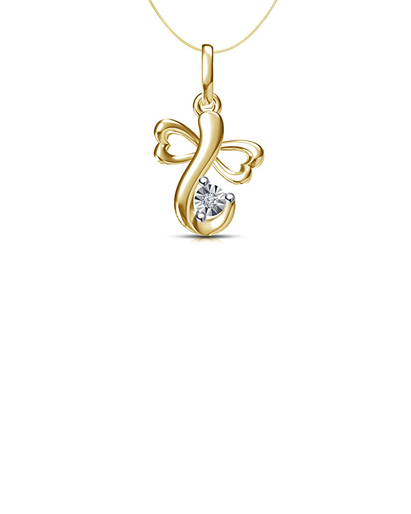 aed34d59f Real Diamond Sterling Silver Ganesh Ganpati Pendant Without Chain ...