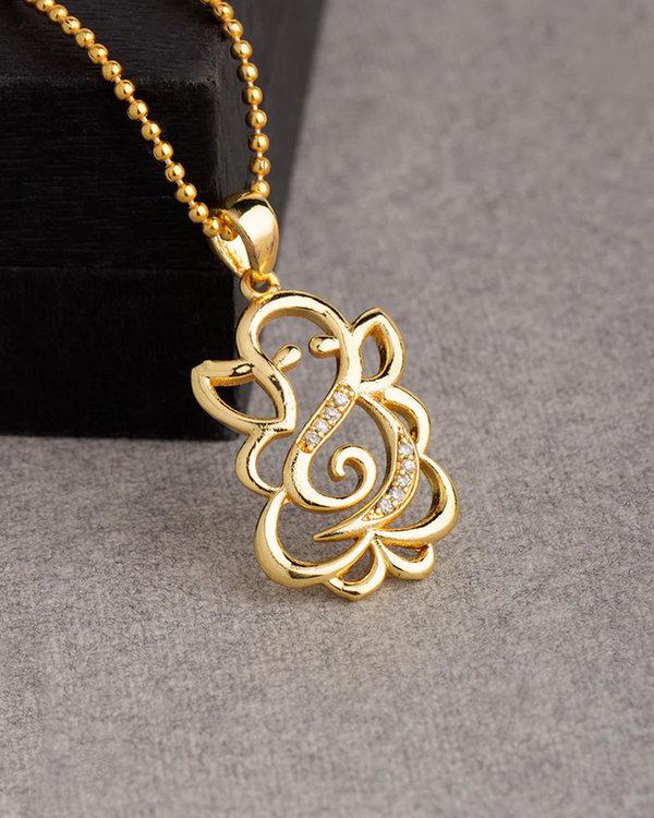 Buy designer pendants lord ganesh designer pendant with chain for lord ganesh designer pendant with chain for men aloadofball Image collections