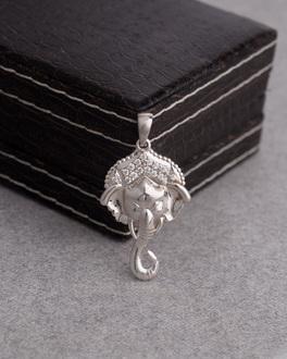 Buy designer mens pendants pure sterling silver sai baba pendant contemporary gane 51900 aloadofball Image collections