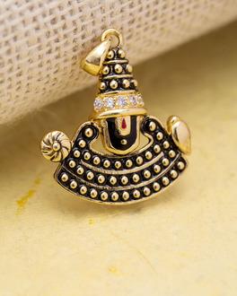 Spiritual Saga Religious Tirupati Balaji Pendant   VOYLLA Fashions