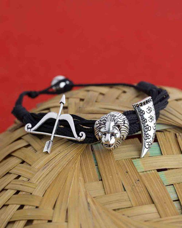 Buy Designer Mens Bracelets Maharaja Bracelet With Hanging Charms
