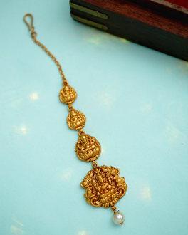 d7d86a3d859 Buy Antique Maang Tikka – Designer South Indian Bridal Maang Tikka ...