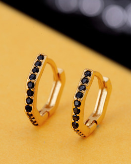 3c7ec3e65777b Buy Mens Hoops Earrings - Stylish Pearl, Gold Earrings for Men | Voylla