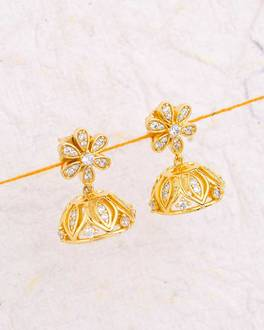 Buy Jhumka Online – Pearl, Gold/Silver, Antique Jhumki for