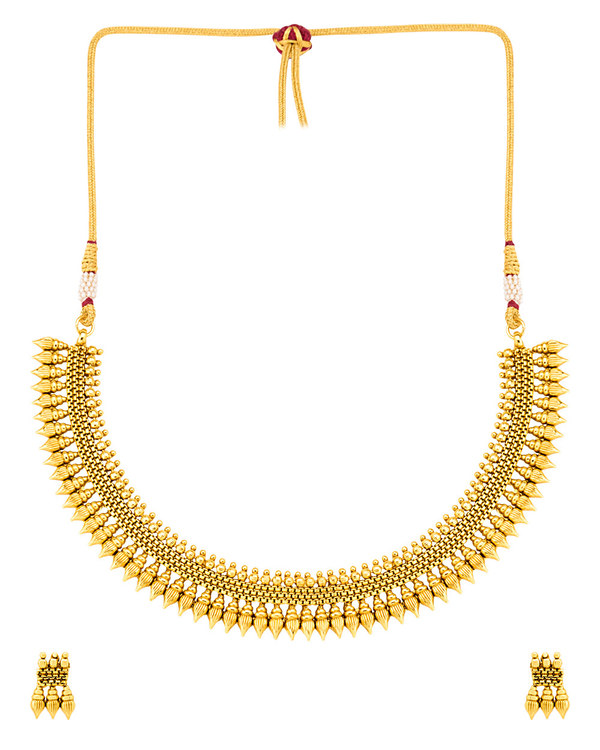 effc802fc67e2 Gracious Gold Plated Sanskriti Necklace Set