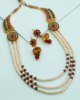 Buy Indian Fashion Jewellery Online at Best Price - VOYLLA