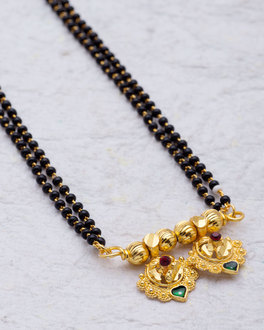 4f0876d701d72 Mangalsutra - Buy Silver & Gold Mangalsutra Black Beads Chain