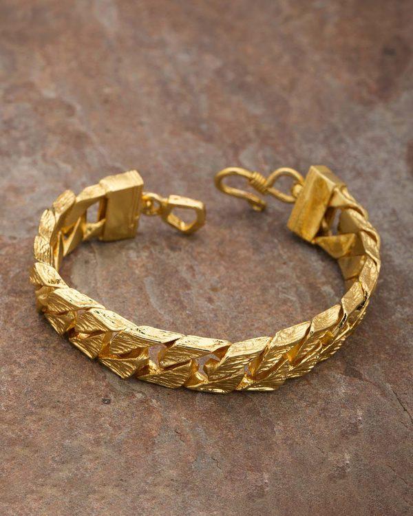 3ce9c14bd0b6e Men's Bold Designer Bracelet From Dare By Voylla