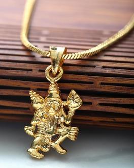 Shop Hanuman Ji Locket/Pendant with Chain Online | VOYLLA