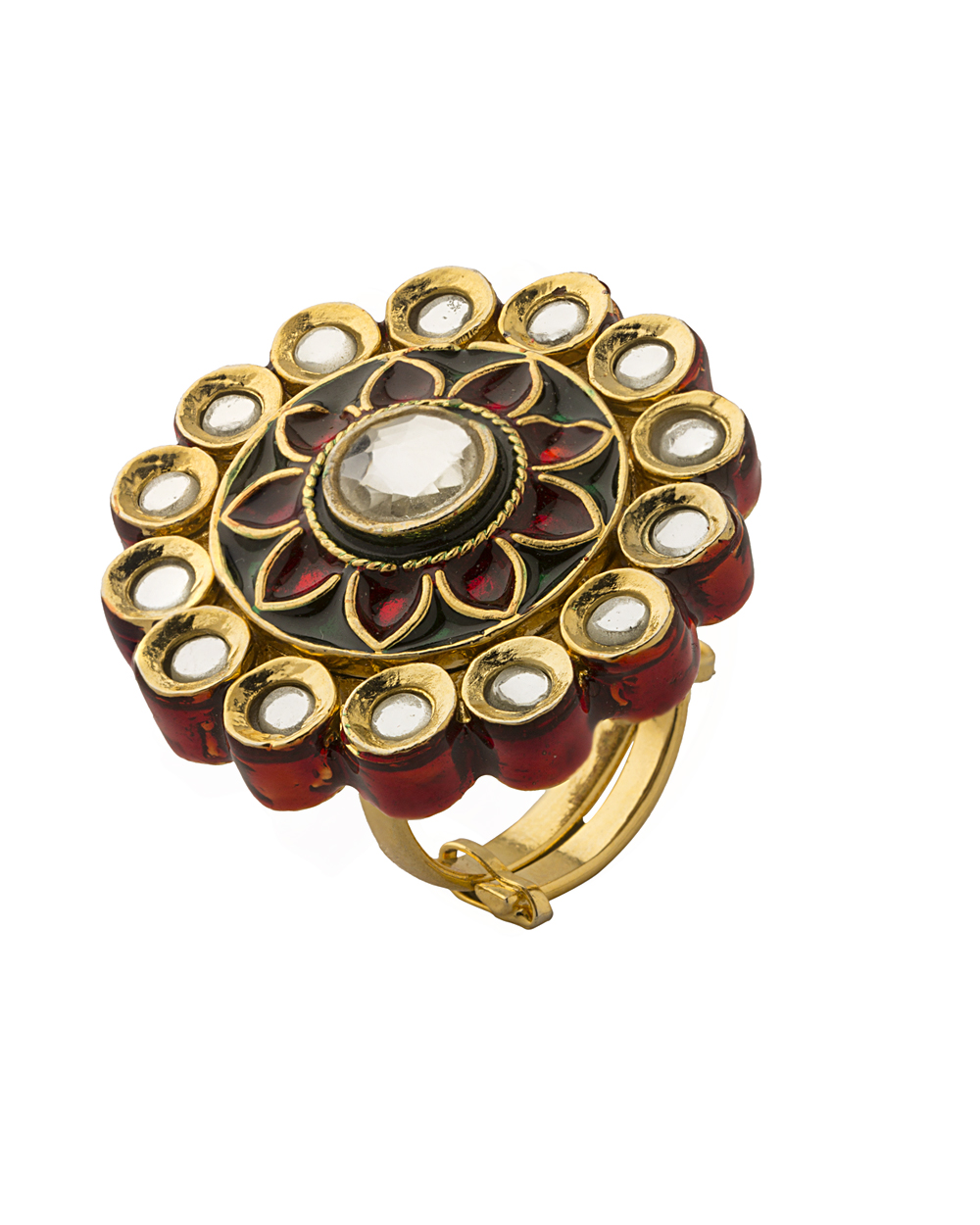 Buy Rajasthani Designed Inspired Traditional Ring Online India ...