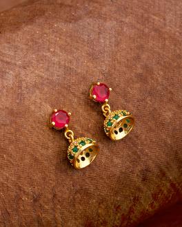 Toaimy Fashion Ear-Rings Vintage Metal Earrings Oval Leaf Earrings Indian Style Tassel Earrings
