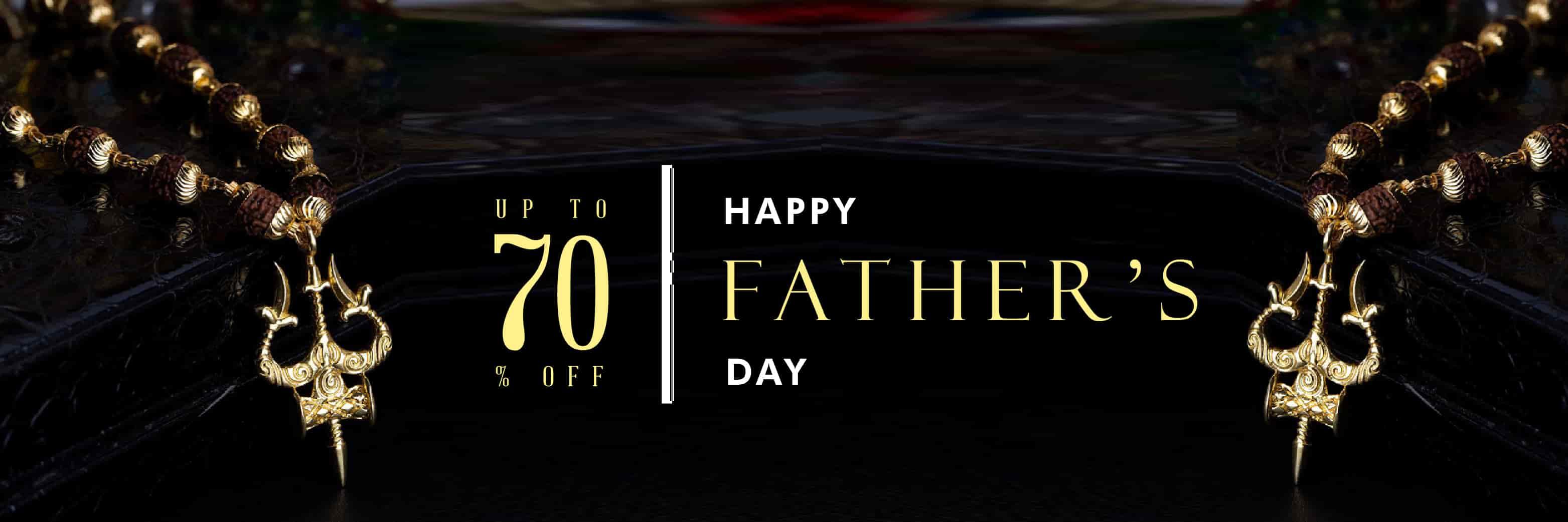 voylla.com - Upto 70% Off on Designer Father's Day Jewelry